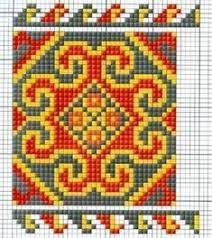 Image result for diagramas mochilas wayuu