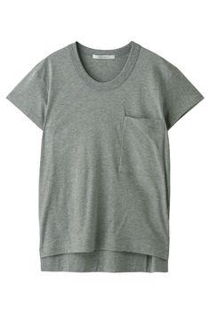コットン半袖Tシャツ プレインピープル/PLAIN PEOPLE