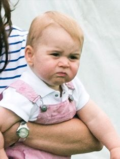 """Prince George vs. Great Granny: It's a Faceoff! 
