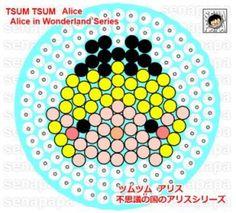 tsum tsum perler alice