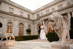 Rosecliff Wedding Newport, RI {photo credit Armor & Martel}