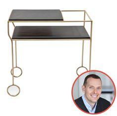 Stefan Steil – STEILISH selected: Modern Living Supplies, Suite 408 Biron Slate Top Bar Cart