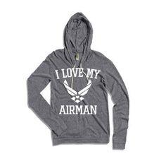 I Love My Airmen (Hoodie)