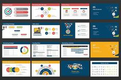 Digital Marketing Strategy PPT by Good Pello on @creativemarket