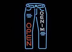 DENIM OPEN デニムオープン (ネオン管 看板 アメリカン雑貨 ・NEON SIGN・ネオンサイン)の卸:株式会社 坊や|問屋・仕入れ・卸・卸売の専門【仕入れならNETSEA】