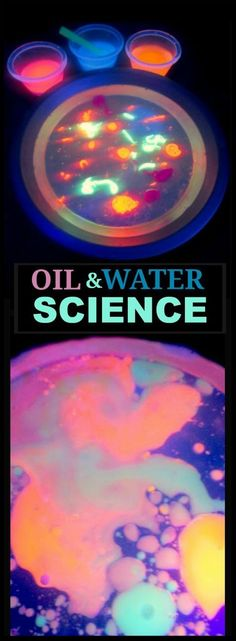 AMAZING KID SCIENCE: MY KIDS WERE IN AWE! {OIL & WATER EXPERIMENT}