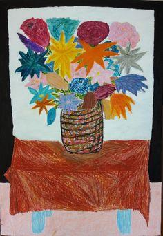 Martwa natura 5 to obraz zainspirowany stylem awangardowym. Obraz namalowany farbami olejnymi i pastelami.  Onraz do kupienia na: https://www.artmakers.pl/artwork/mateusz-zeniuk/martwa-natura-5