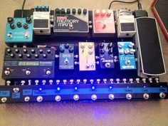 Very close to my ideal pedalboard.