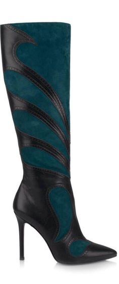 GREEN BOOTS  |  ladies boots