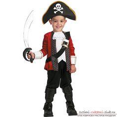 Как сделать костюм пирата своими руками. Простые решения и фото-материалы.