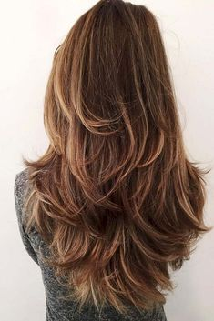40 Amazing Long Layered Hair 2018 Hairstyles For Long Hair Layers Best 25 Long Layered Haircuts Idea Long Wavy Haircuts, Haircuts For Long Hair With Layers, Haircut For Thick Hair, Hairstyles Haircuts, Layer Haircuts, Layered Hairstyles, Long Layered Hair Wavy, Hair Styles Long Layers, Haircut In Layers