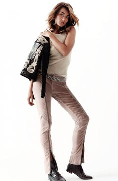 Andreea Diaconu Models H&M's Spring 2014 Collection