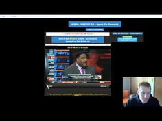 http://youtu.be/R-sk1cL-WIk       How to watch any LIVE sporting event on the internet.  Get rid of cable TV.