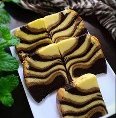 Resep Cara Membuat Ogura Cake Macan Puding Cake, Bolu Cake, Resep Cake, Pastry Recipes, Cake Recipes, Dessert Recipes, Mandarin Cake, Marmer Cake, Ogura Cake