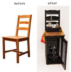 Repurposed Chair: FIDM Portfolio by Amanda Elizabeth Dasteel, via Behance