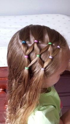 Visit the post for more. Cute Little Girl Hairstyles, Cute Girls Hairstyles, Princess Hairstyles, Pretty Hairstyles, Braided Hairstyles, Hairdos, Girl Hair Dos, Toddler Hair, Hair Makeup