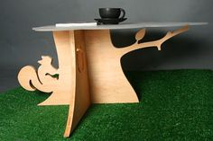 Tree Stump Coffee Table: Because We Can : TreeHugger