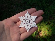 free showflake crochet pattern