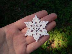 free showflake crochet pattern