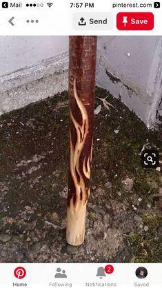 New Wood Carving Ideas Art Walking Sticks 24 Ideas Handmade Walking Sticks, Hand Carved Walking Sticks, Walking Sticks And Canes, Wooden Walking Sticks, Walking Canes, Dremel Wood Carving, Wood Carving Art, Wood Art, Wood Carving Designs