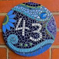 Custom Mosaic Address Plaque - Google zoeken