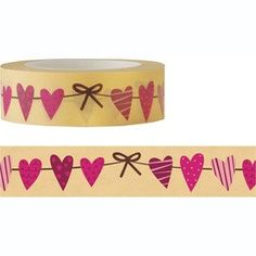 Heart Masking Fun Tape 15M by pikwahchan on Etsy, $3.10