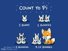 Count To Pi T-Shirt - http://teecraze.com/count-to-pi-t-shirt/ - > Designed by fablefire    #tshirt #tee #art #fashion