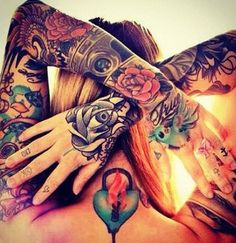 Cute arm tattoos #girly