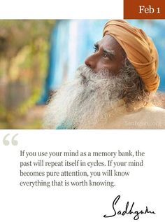 1st Feb quote from Sadhguru More