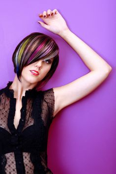multi-colored #hairstyles
