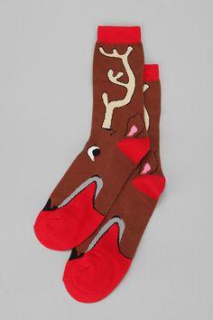 UO Reindeer Sock #holiday #urbanoutfitters