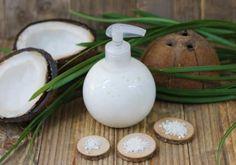 Recette : Crème de douche Douceur de Coco - Aroma-Zone Remplacer la fragrance Cocosun par la Summer. A essayer!