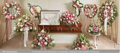 TYPES OF FLORAL ARRANGEMENTS FOR A FUNERAL