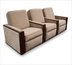 Fortress Hudson Home Theater Seating   Fortress Seating-- Movie theatre seating