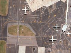 The Hidden Beauty of Airport Runways, and How to Decipher Them | Almost all airport designs are governed by regulations established by the International Civil Aviation Organization to ensure pilots circling Toledo or Timbuktu remain properly oriented and deliver their passengers safely—Wellington International Airport  Lauren O'Neil  | WIRED.com