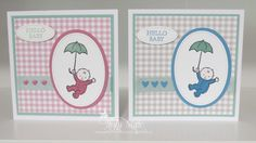 Stampin Up, Moon Baby,