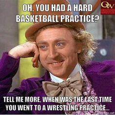 Wrestling > Basketball   ––– Obsessed Wrestler  •••••••••••••••••••••••••••…