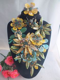 W 864 Fashion Nigerian Wedding African Beads Jewelry set Necklace Bracelet Earrings Jewelry Set-in Jewelry Sets from Jewelry on Aliexpress.com