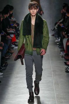 eca689008305 Bottega Veneta presented its Fall Winter 2014 collection during Milan  Fashion Week