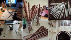 Kouzelníci z 1.B - výroba kouzelnických hůlek Incense, Teaching Ideas, Harry Potter
