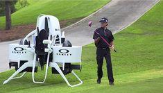 未来のゴルフは空を飛ぶ!?ゴルフカートの代わりに開発された「ジェットパック」が凄い! - Spotlight (スポットライト)