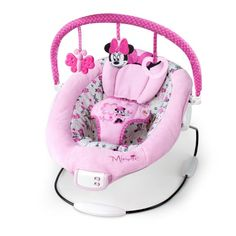 Disney Baby Minnie Mouse Garden Delights Bouncer, Pink