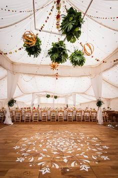 A tropical Indian marquee wedding in Devon by Knot & Pop, UK Wedding Planners