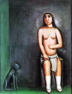 La casa dell'amore, 1922 - Carlo Carrà