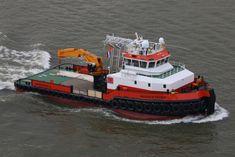 Terug van proefvaart  13 april 2016 op de Nieuwe Maas te Rotterdam   http://koopvaardij.blogspot.nl/2016/04/terug-van-proefvaart.html