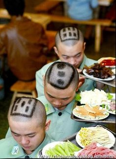 funny photos of mah jong | mahjong haircut, mahjong restaurant