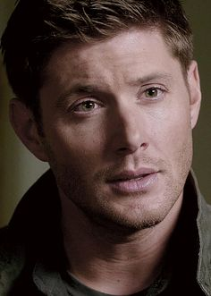 I, m just in love with his face. Hes to damn hot. Losing Everything, Two Brothers, Season 8, Going Home, Dean Winchester, Jensen Ackles, Squirrel, Moose, Supernatural