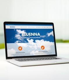 Projekti: nettisivuston ulkoasusuunnittelu ja Wordpress-toteutus. www.bluenna.com