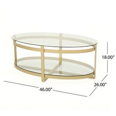 Plumeria Modern Glam Tempered Glass Oval Coffee Table with Iron Frame by Christopher Knight Home - Overstock - 23055359 Coffee Table Frame, Round Coffee Table Modern, Round Glass Coffee Table, Oval Coffee Tables, Coffee Table Books, Glass Table, Built In Furniture, Table Furniture, Kitchen Cabinet Styles