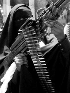 a somali female militant in mogadishu